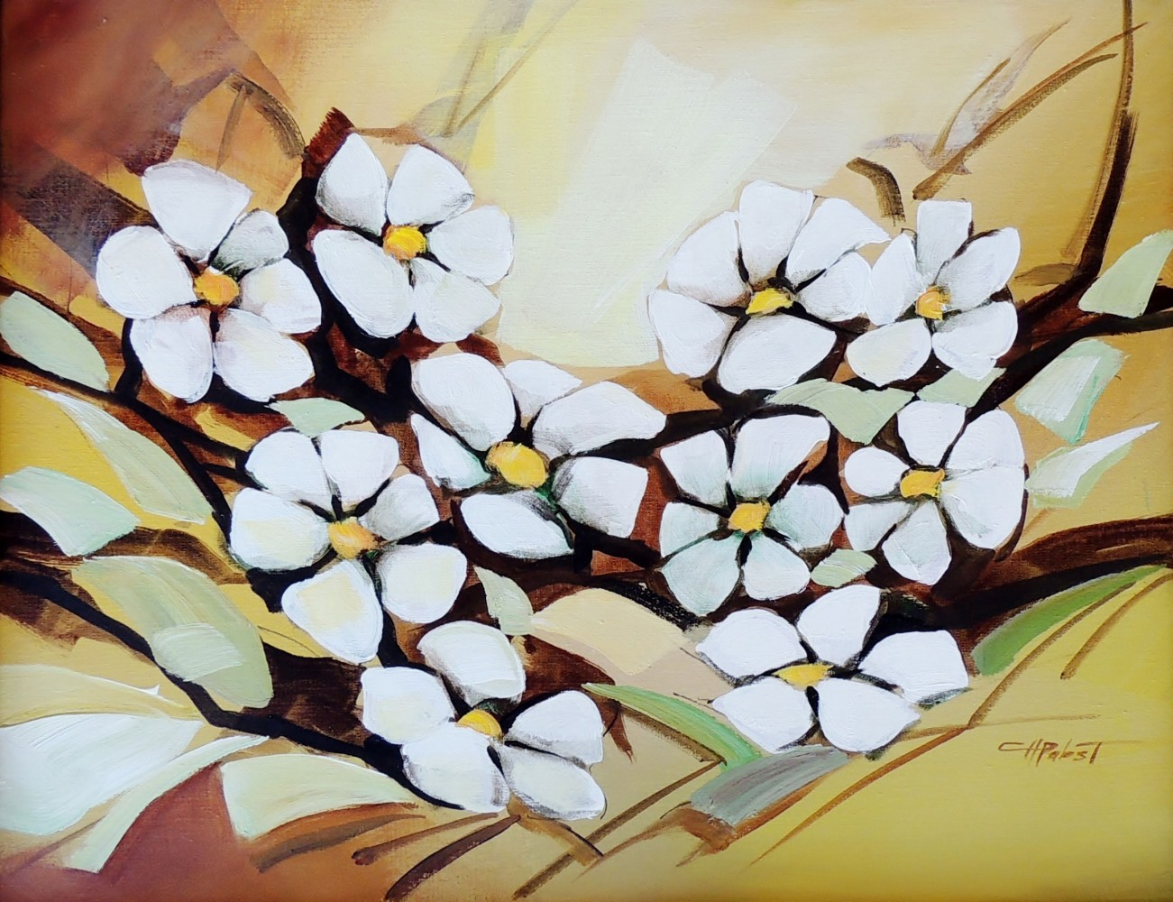 Untitled Flowers 30x24