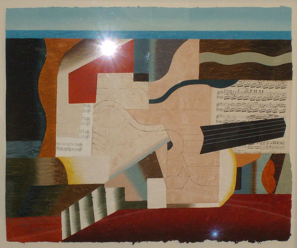 Cubist Composition 1982