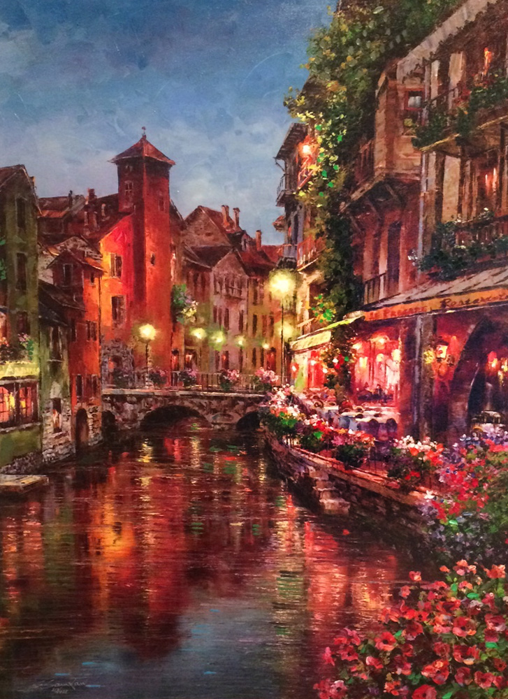 Annecy Night 2015 Embellished