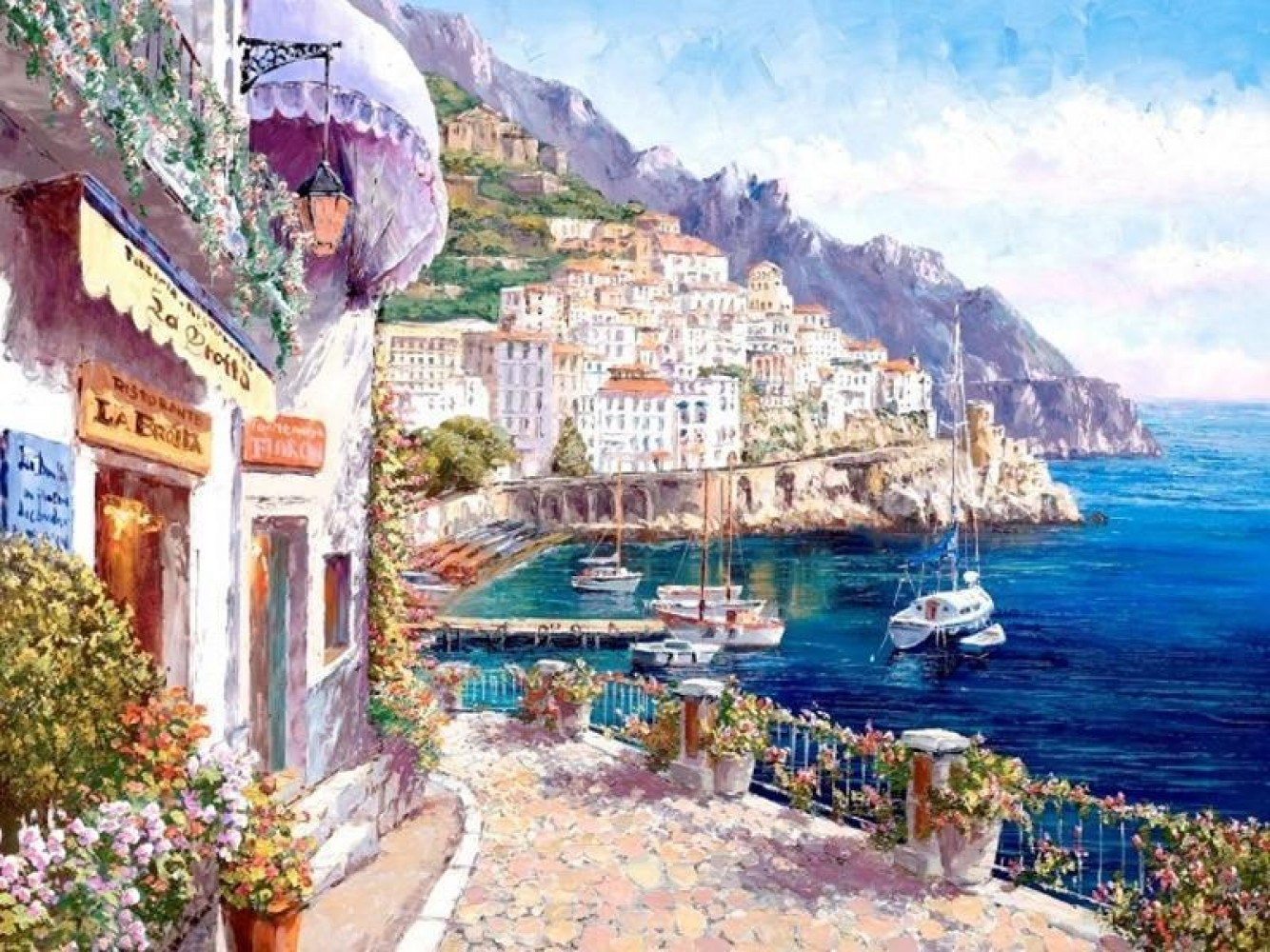 Amalfi Afternoon Embellished 2010