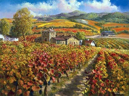 Red Vineyards Napa Valley 2010 Embellished