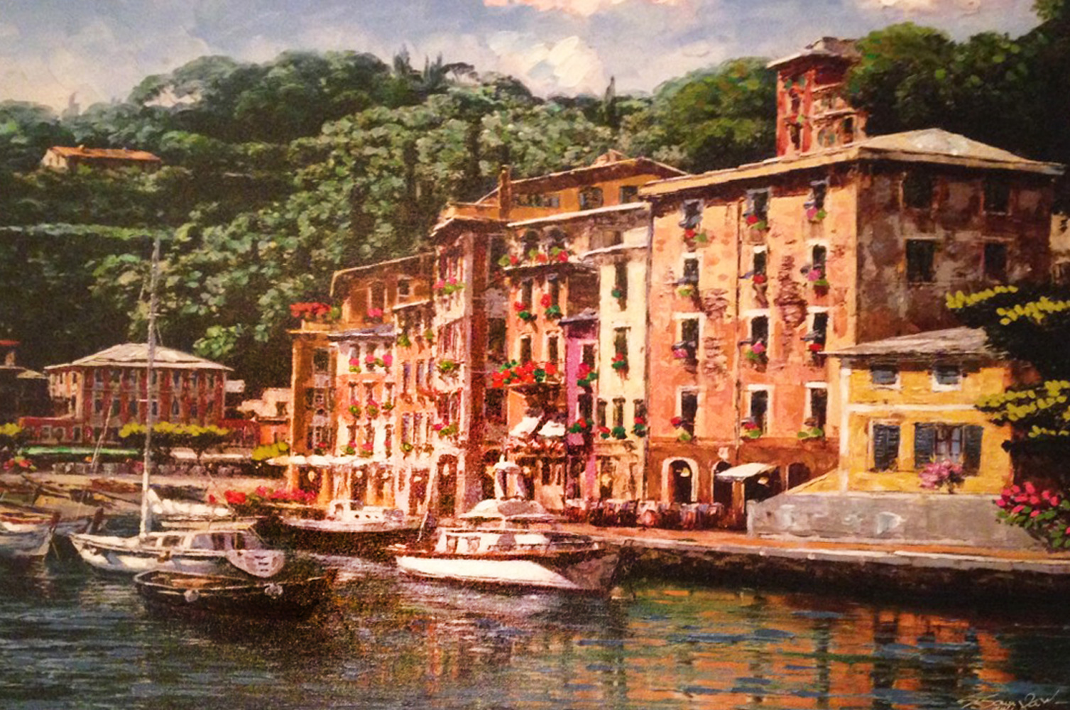 Dockside At Portofino 2013 Embellished