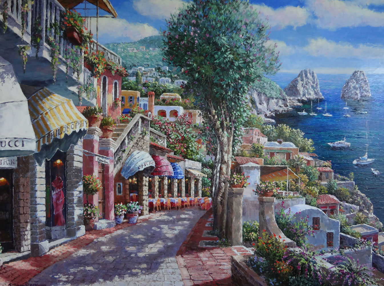 Afternoon in Capri 2002 45x57