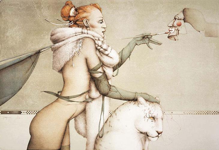 Favorito Michael Parkes Art for Sale KU41