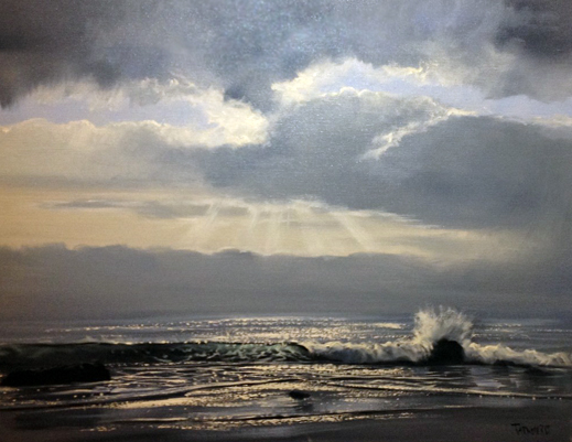 Carmel Seas, California 24x40