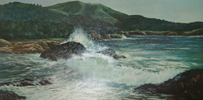 Untitled Seascape 29x53
