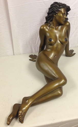Untitled Bronze Sculpture1990 24x24x15