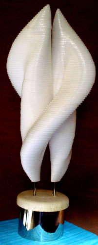 Hug Marble Sculpture 2010 30 in