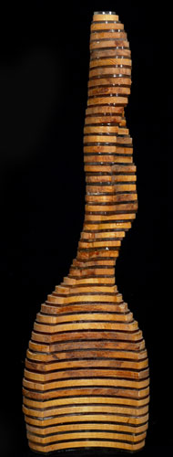 Twisting Torso Wood Sculpture