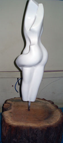 Mood Fibre Glass Sculpture
