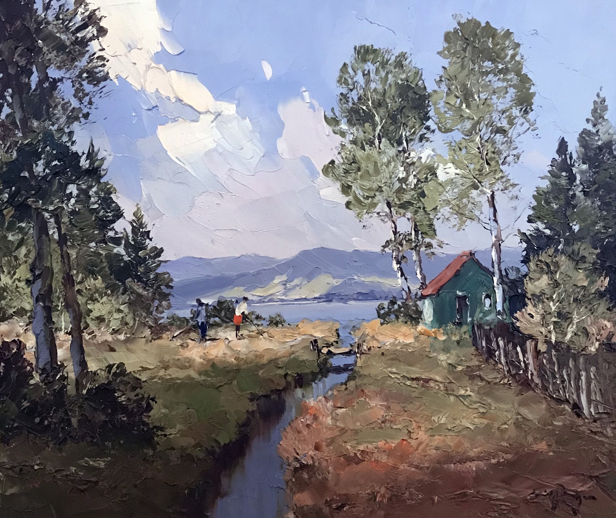 Near the Lake  19x23