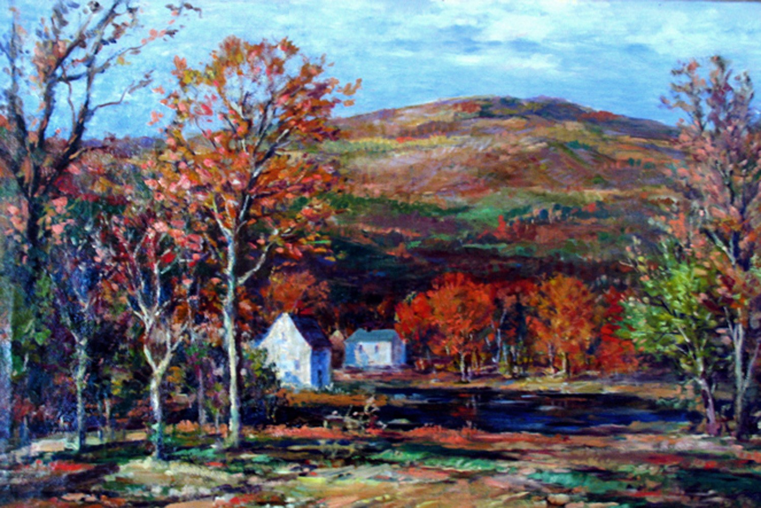 Untitled (Autumn in  New England) 1930 41x29