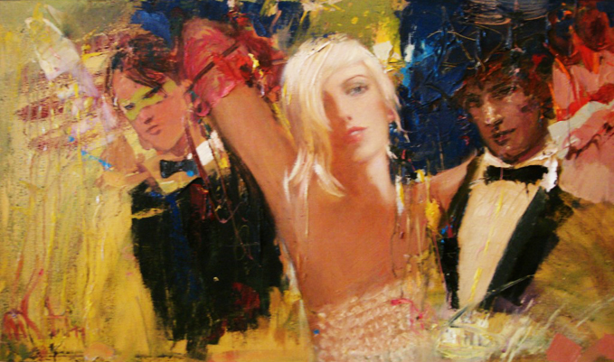 Night At the Ball 2011,27x42