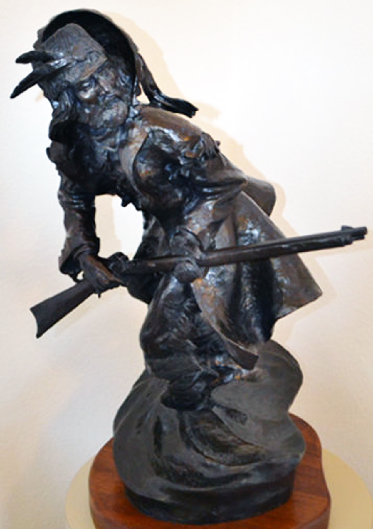 A Premonition Bronze Sculpture 1983 25 in