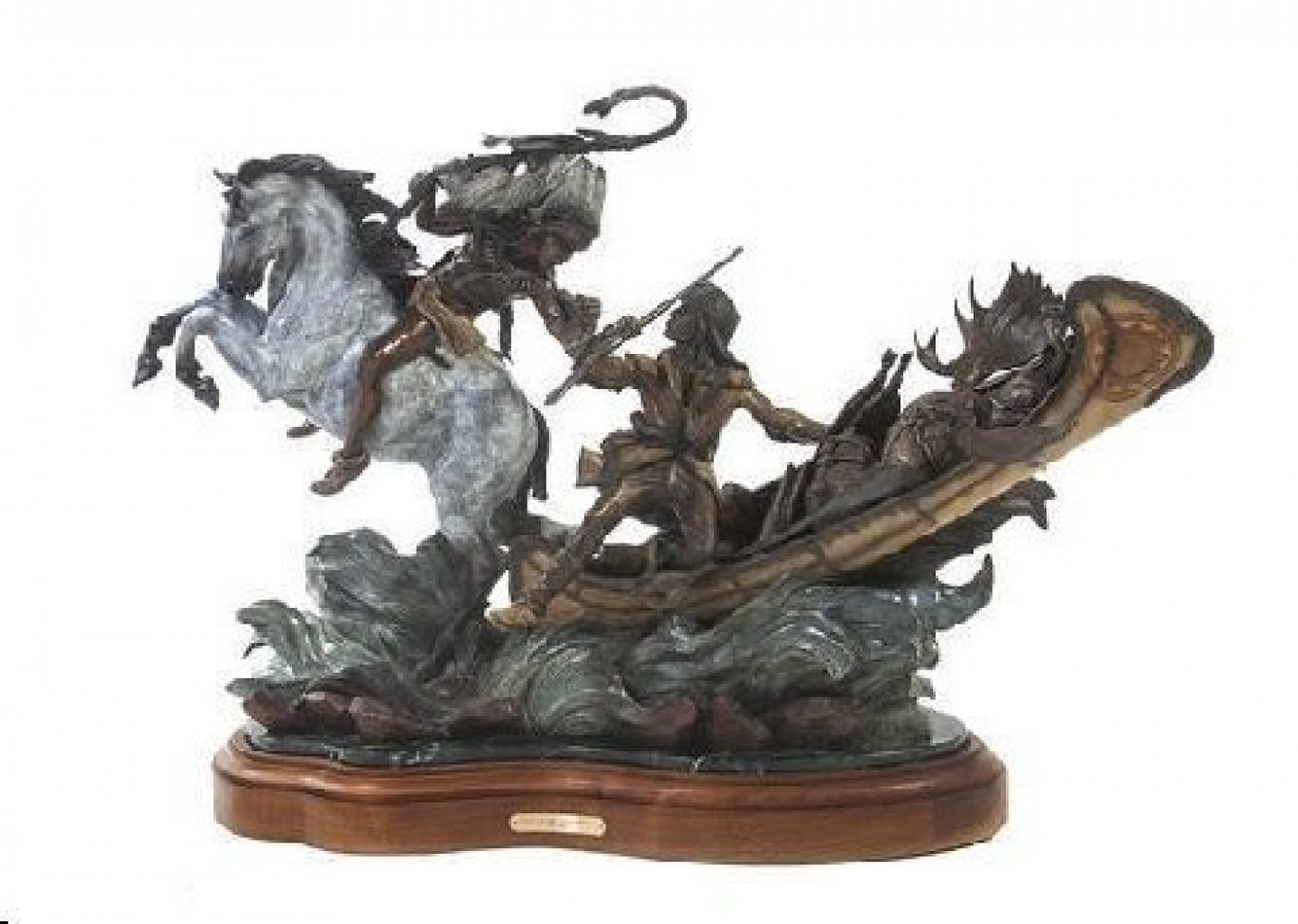 Love of the Wild Places Bronze Sculpture 28x38