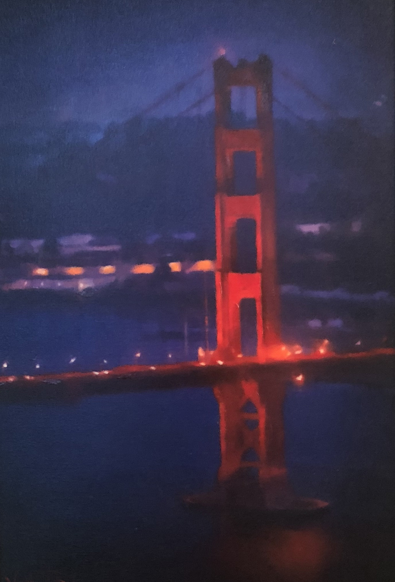 Golden Gate Bridge 2015 24x16
