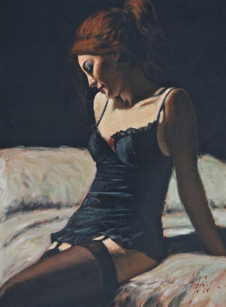 Paola on the Bed II 2008 33x43