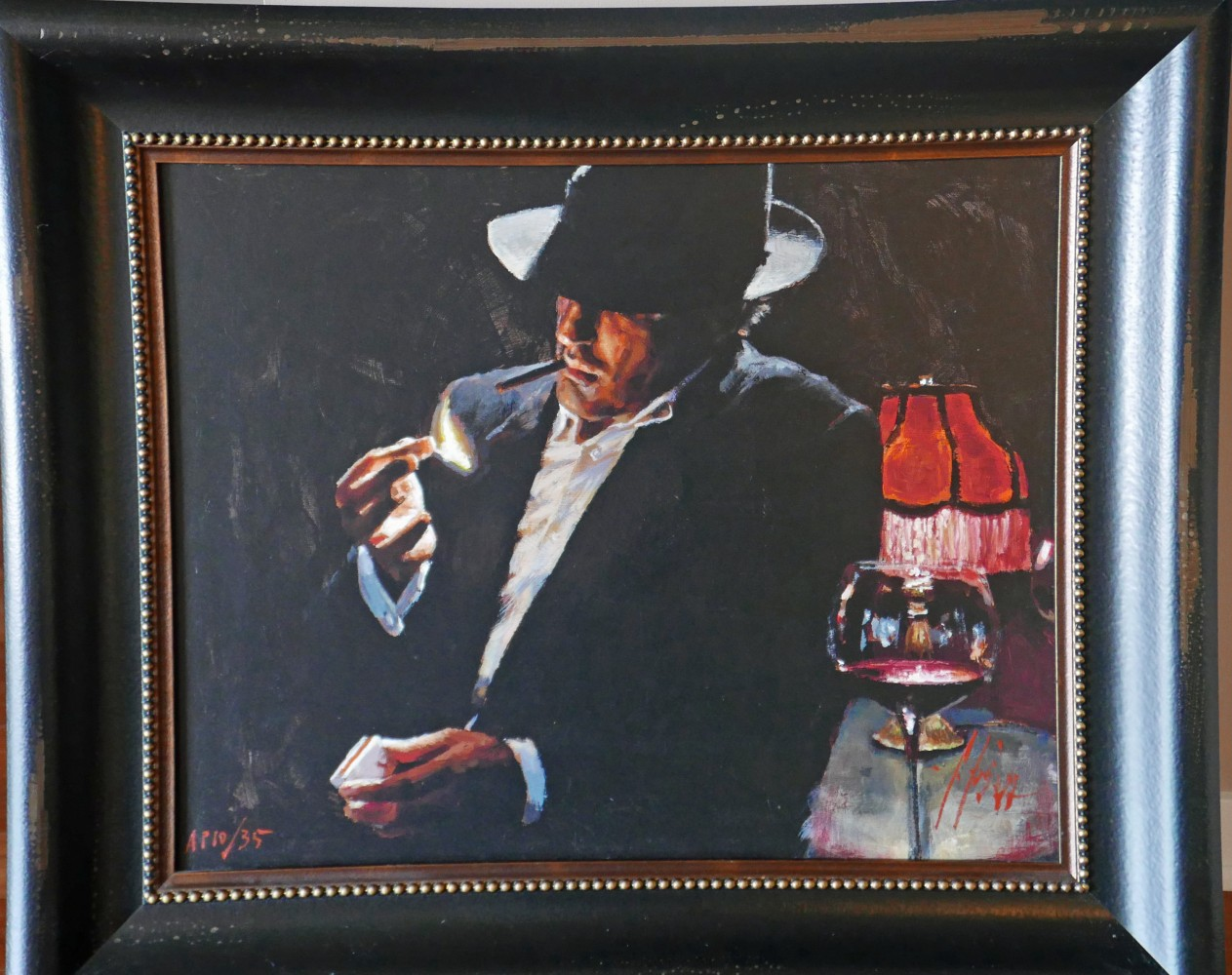 Man Lighting a Cigarette II 2009