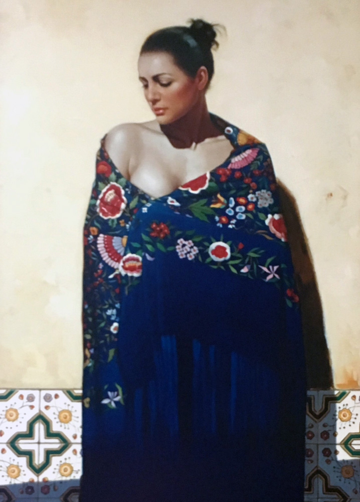 Shawls of Spain - Azul AP 2006