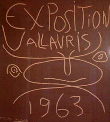 Exposition Vallauris - 1963
