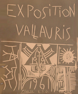 Exposition Vallauris 1961