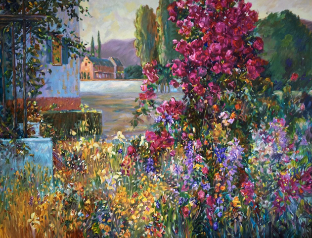 La Vie En Rose 1996 by Henri Plisson
