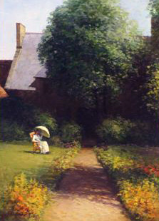 Lady in the Manor House 2007 25x33