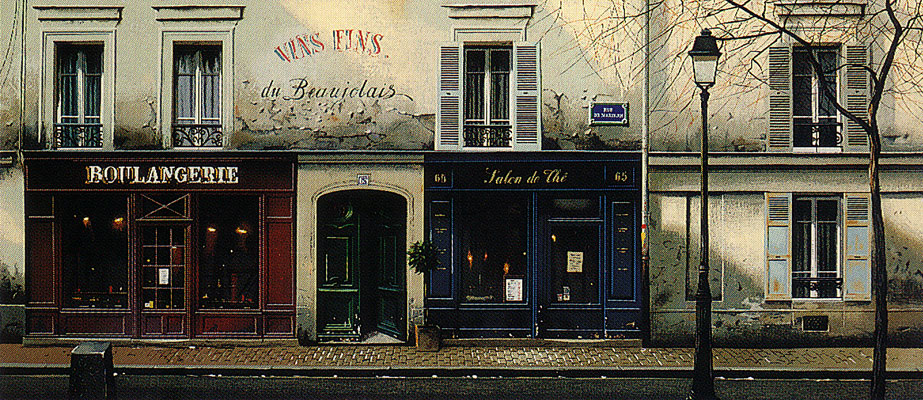 Twilight on Rue de Mondrian 1992