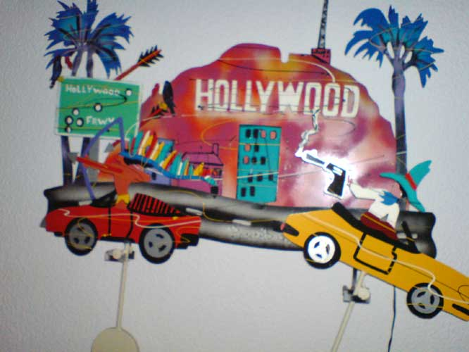 Hollywood Freeway Kinetic Sculpture 1990