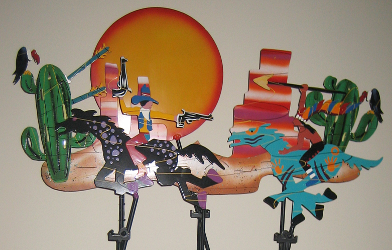Wild, Wild West Kinetic Sculpture 1993