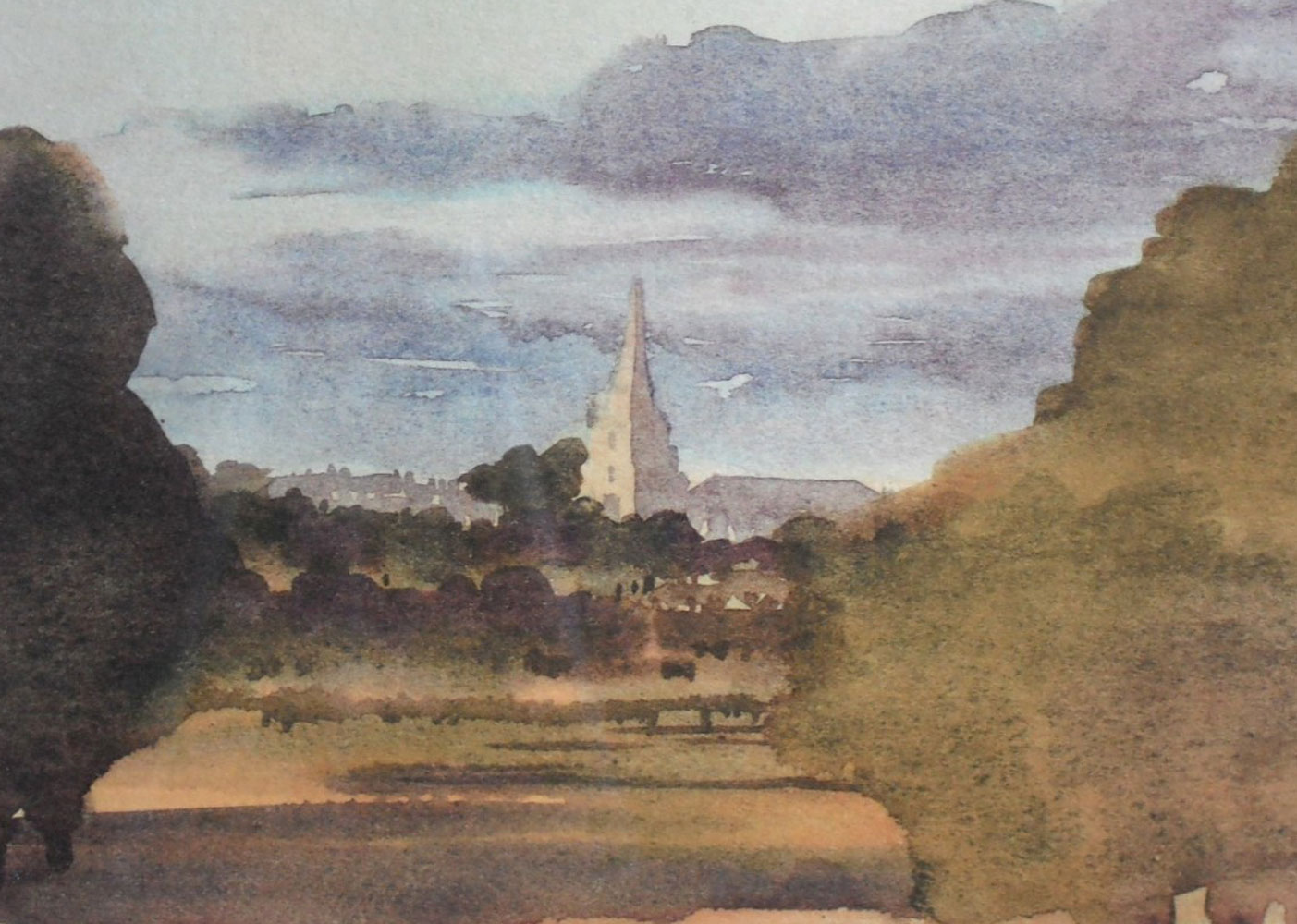 Tetbury Church From Highgrove House 2000