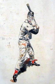 Ted Williams 2007 40x30