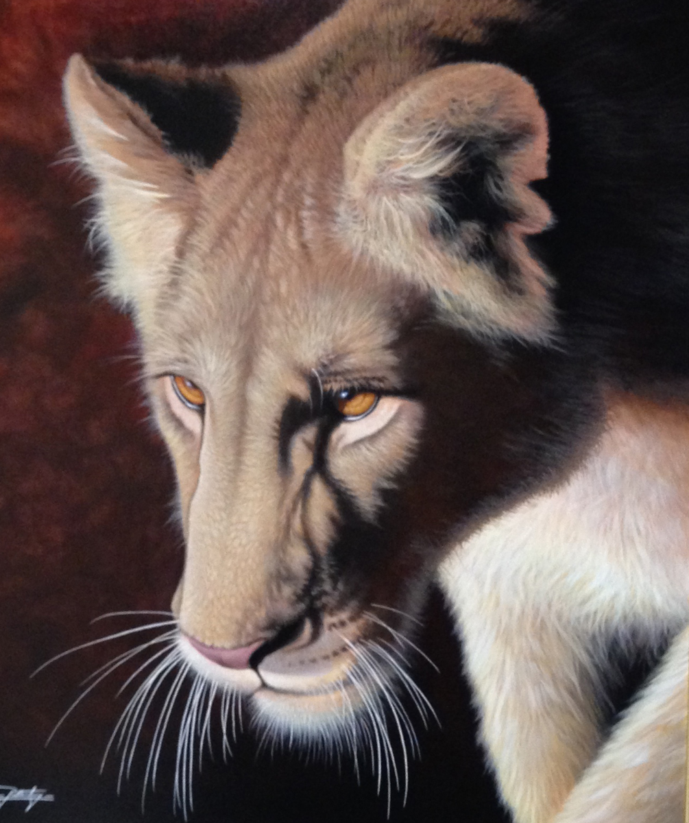 Golden Eyes 2013 33x29
