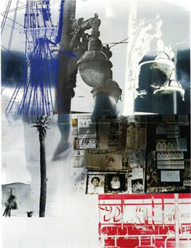 Narcissus, From Roci USA (Wax Fire Works) by Robert Rauschenberg