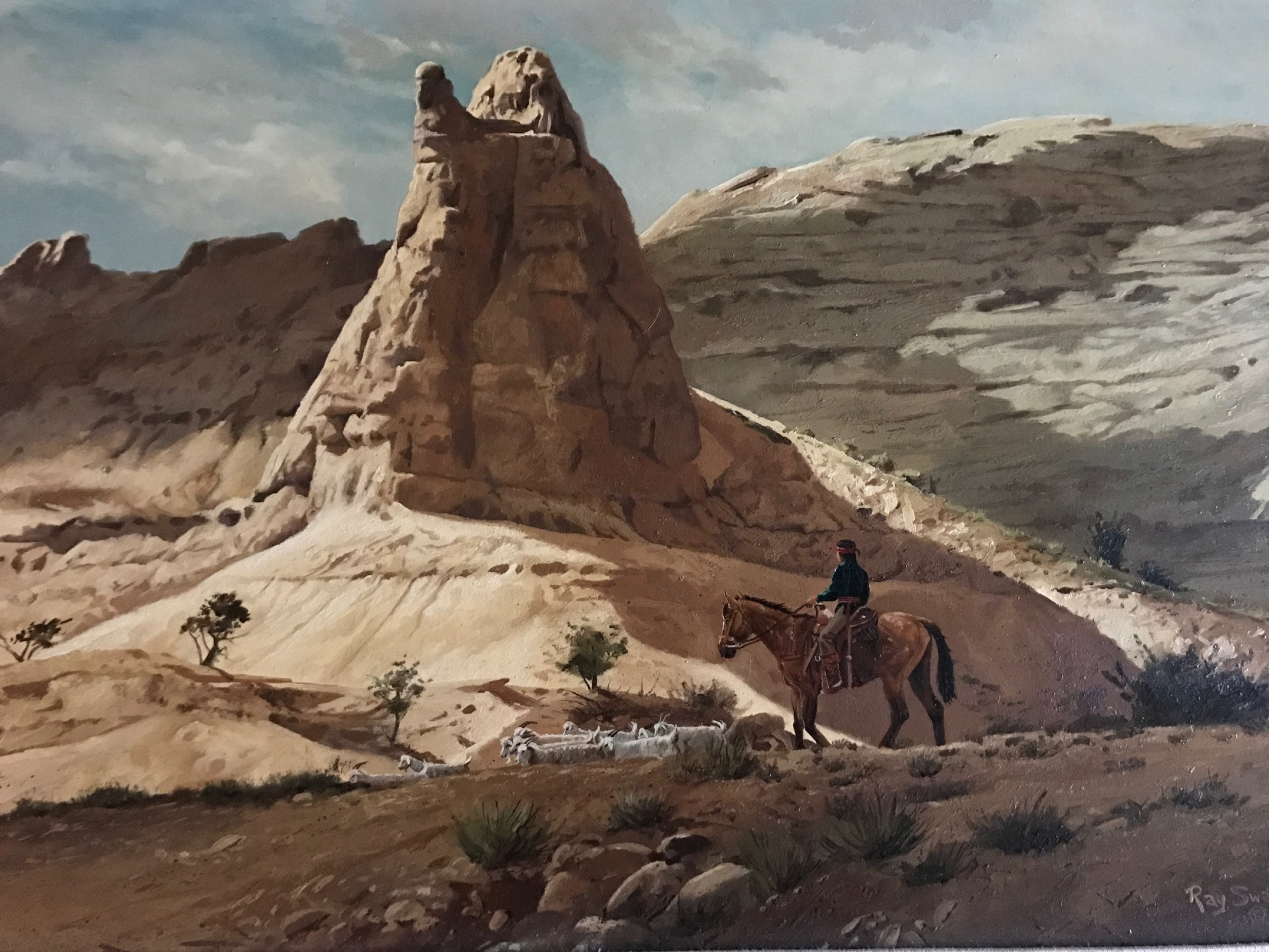 Sandstone Country 1976 22x30