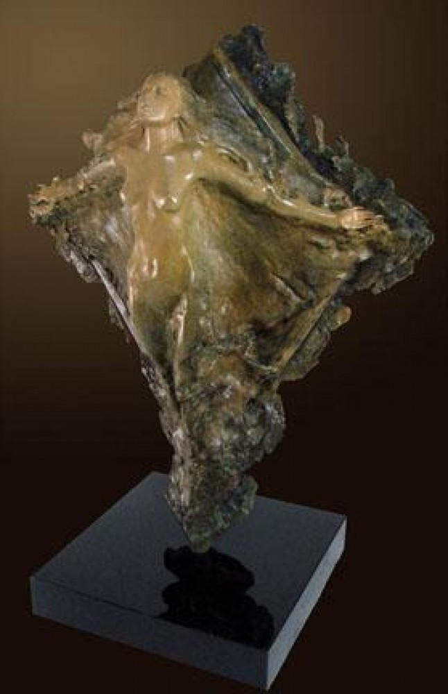 Prismsoul Bronze Sculpture 1995 25 in
