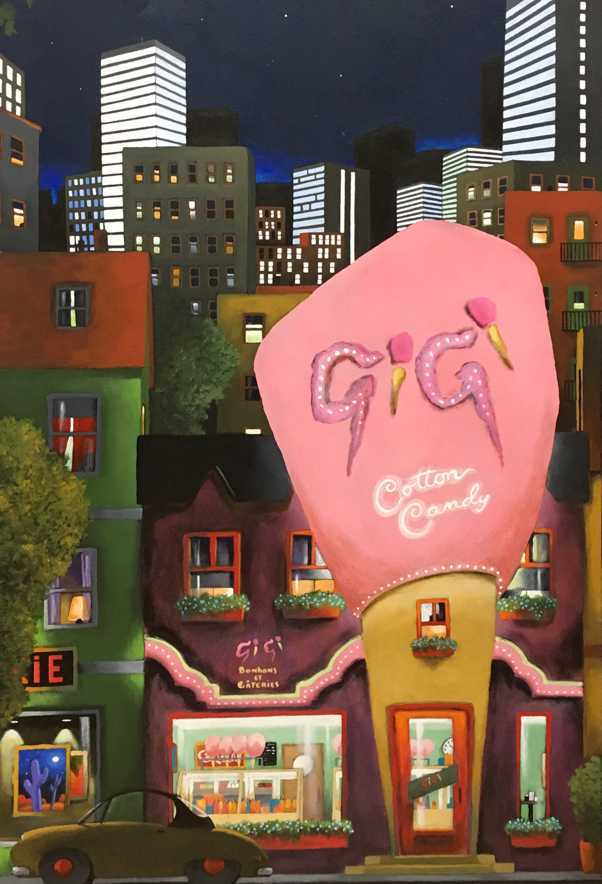 Gigi's Cotton Candy 2003 52x28