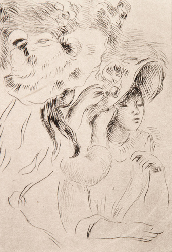 Le Chapeau Epingle 1894 by Pierre Auguste Renoir