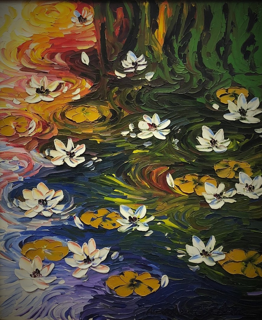 Waterlilies 33x29