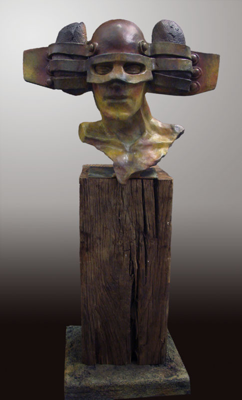Messenger Bronze Sculpture 2009 32 in