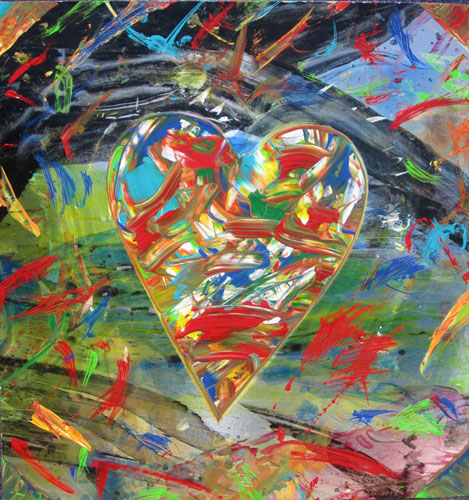Heart in Motion 30x22