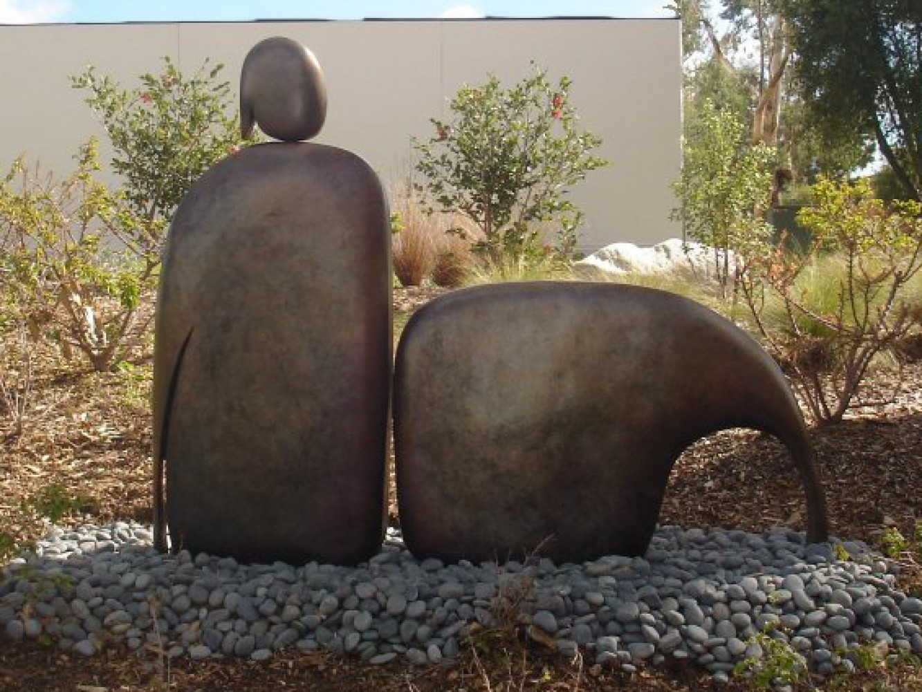 I Am Reclining (Large) Bronze Sculpture