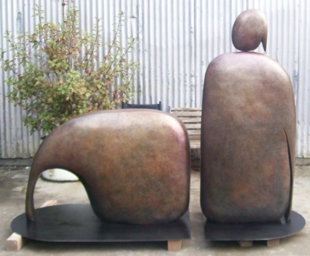 I Am Reclining (Large) Bronze Sculpture AP 1992 96x60 in