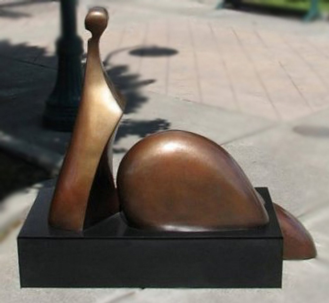 Brigitte Bronze Sculpture 2007 42x60 in