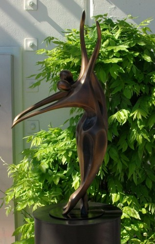Dancers II (Small) Bronze AP Sculpture  30x16