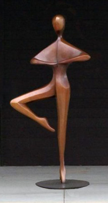 Pirouette (Monumental) Bronze Sculpture AP 84 in