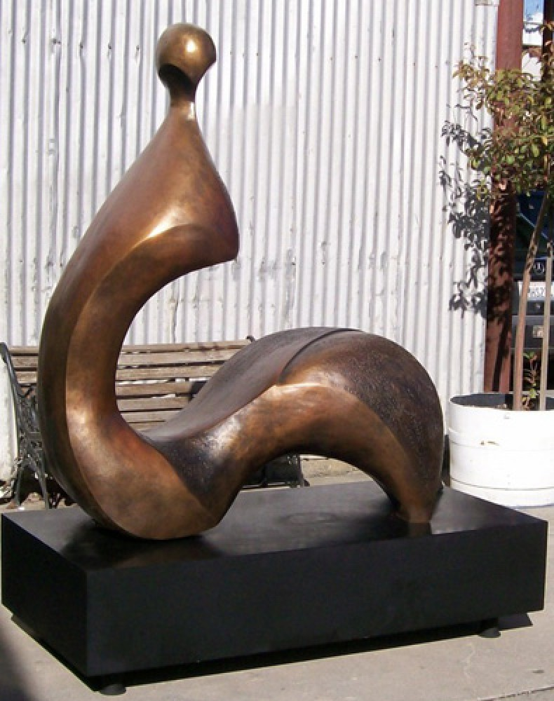 Cici (Large) Bronze Sculpture 1992 60x60x27
