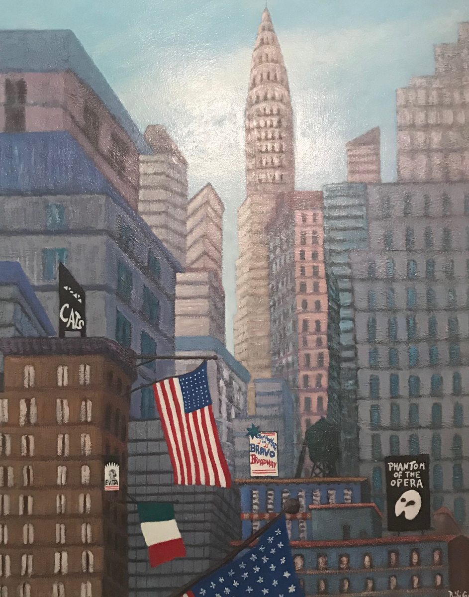 New York Dream 1998 26x32
