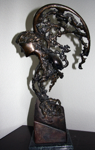 Gabriel Unique Bronze Sculpture