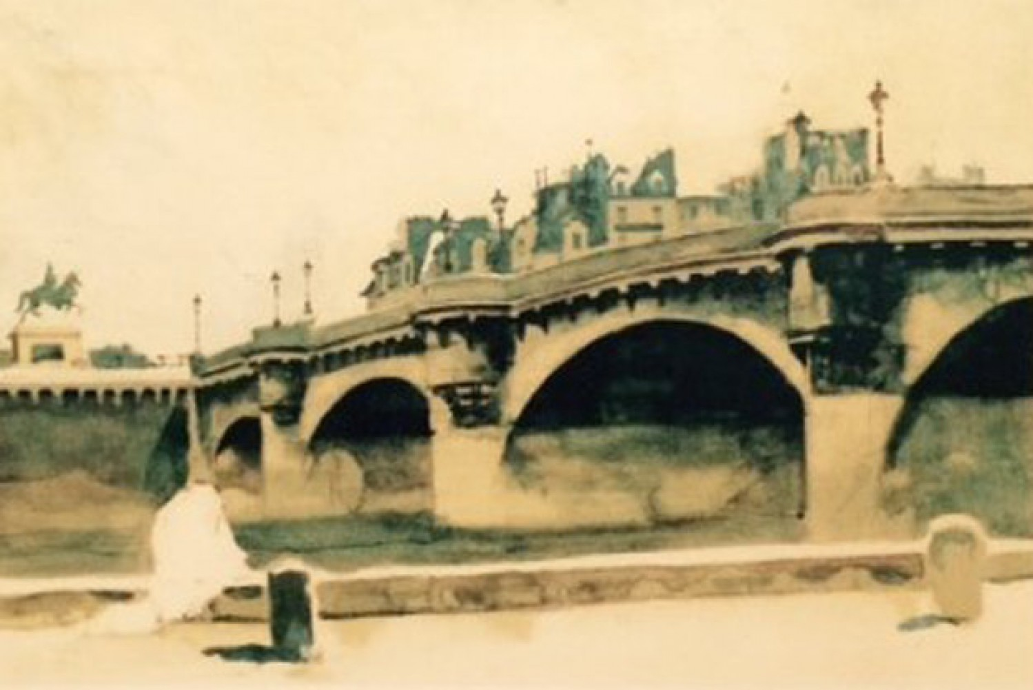 Paris Bridge 1932
